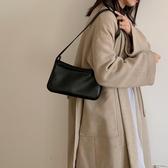 韓版手提包中古包包女韓版ins復古百搭側背腋下包法棍包側背包手提包包春季 果果生活館