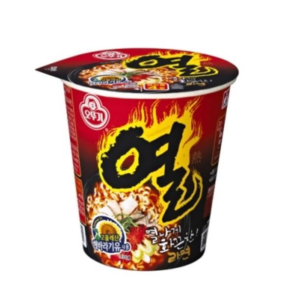 韓國不倒翁辛辣杯麵 - 62g 全球十大辣麵TOP3