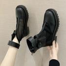 短靴 馬丁靴女夏季薄款涼鞋瘦瘦短靴鏤空網紗透氣網靴-Ballet朵朵