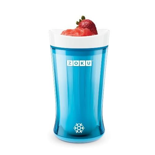 冰沙自製-美國ZOKU快速冰沙杯2.0-紅色