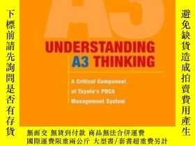 二手書博民逛書店Understanding罕見A3 ThinkingY255562 Durward K. Sobek Ii.