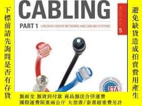 二手書博民逛書店Cabling罕見Part 1: LAN Networks and Cabling Systems, 5th Ed
