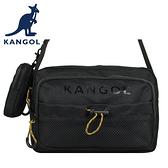 【橘子包包館】KANGOL 英國袋鼠 側背包 斜背包 61551703 黑色 卡其