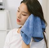 兒童手帕 三利擦手巾掛式兒童洗臉毛巾搽手帕女家用小方巾可愛柔軟【快速出貨八折搶購】