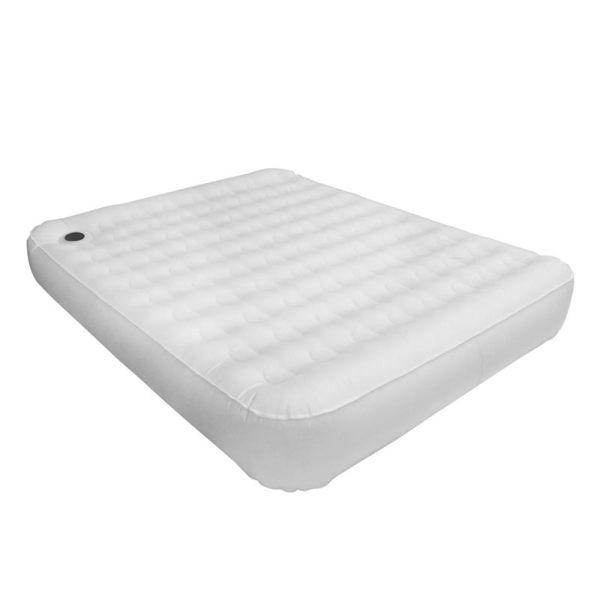 【早點名露營生活館】【OutdoorBase】頂級歡樂時光充氣床Comfort PREM.- M號 - (月石灰)-23823
