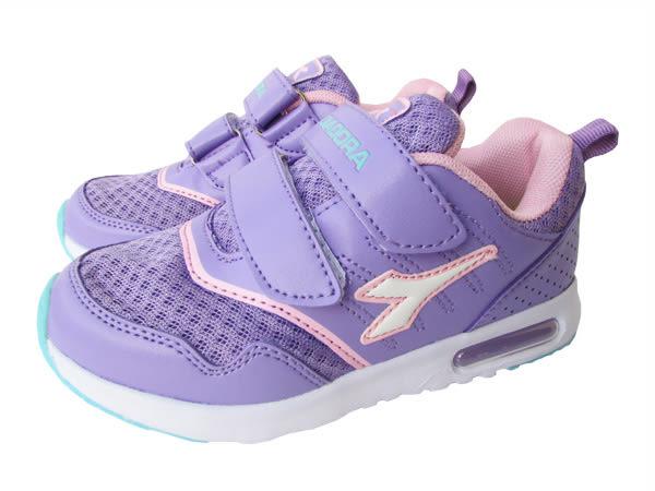 『雙惠鞋櫃』◆DIADORA迪亞多那◆中童款 透氣 舒適 機能鞋墊 耐磨 童運動慢跑鞋◆(DA3887) 紫