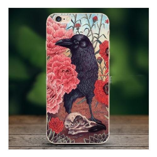 蘋果 iPhone 7/8 i7 保護套 軟殼 插畫 歐美風 手機殼 貓頭鷹 中世紀 復古 動物 個性 彩繪
