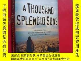 二手書博民逛書店A罕見Thousand Splendid Suns 英文 好品Y