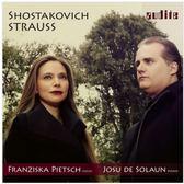 【停看聽音響唱片】【CD】蕭士塔高維契 / 理查.史特勞斯:小提琴奏鳴曲
