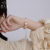 巴洛克手鏈小眾設計氣質珍珠手串高級感異形手飾女【貼身日記】