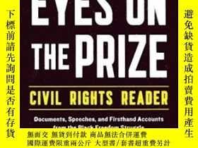 二手書博民逛書店The罕見Eyes On The Prize - Civil Rights ReaderY364682 Car