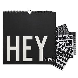 Design Letters 2020月曆 黑