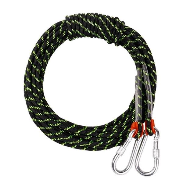 援邦登山繩戶外安全繩耐磨攀巖繩尼龍繩爬山救援繩動力繩救生繩索 星河光年DF