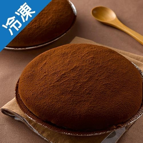 【濃郁濕潤】7吋巧克力波士頓派/盒【愛買冷凍】