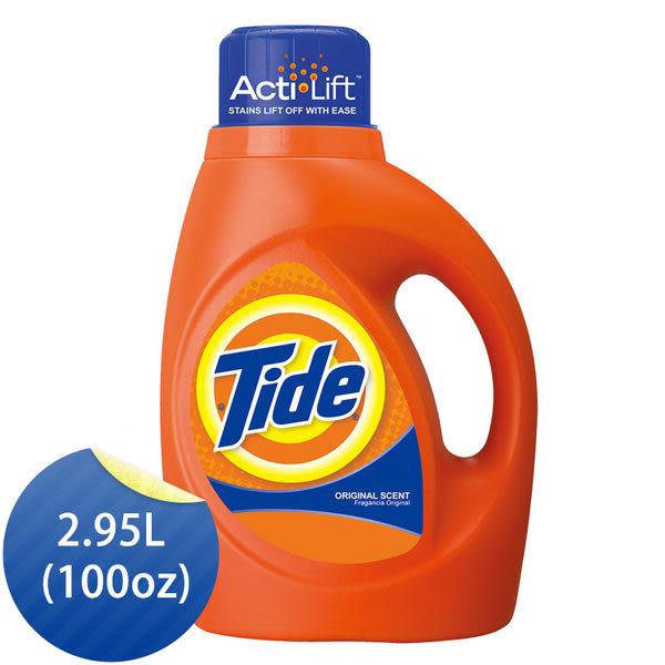 汰漬 Tide 2X 超濃縮 洗衣精 2.95L (100oz) - P&G寶僑旗艦店