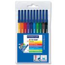 施德樓   MS326WP10  NC 水易洗彩繪筆10色組 / 盒