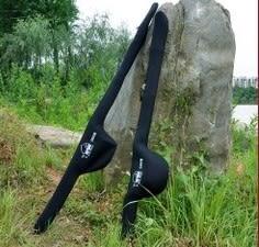 [協貿國際]  1.2米魚竿包高級便攜單層遠投漁具包