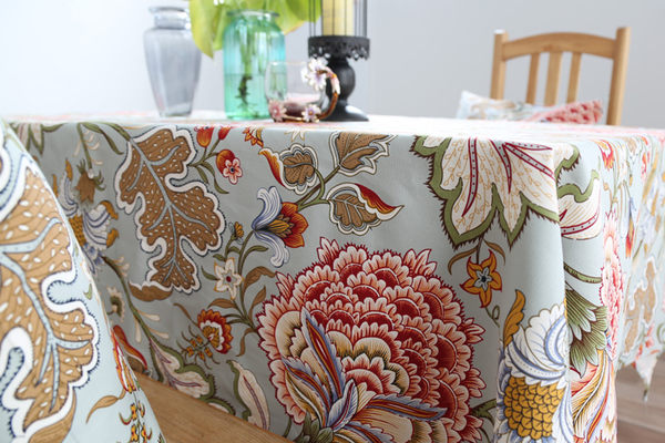 時尚可愛空間餐桌布 茶几布 隔熱墊 鍋墊 杯墊 餐桌巾196  (100*140cm)