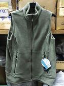 Lafuma 法國品牌(POLARTEC 200) 刷毛保暖背心 (LFV6321 淺灰綠) 男