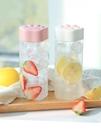 吸管杯 夏季可愛便攜水杯子ins女小學生塑料夏天網紅兒童幼兒園上學專用 夢藝家