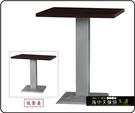 {{ 海中天休閒傢俱廣場 }} C-99 餐廳系列 443-29 2.5X2.5尺美耐板餐桌/烤黑/烤銀腳(顏色可挑選)