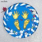 寶寶手足印泥手腳印留念手模腳模紀念品兒童嬰兒永久滿月百天禮物WD 溫暖享家