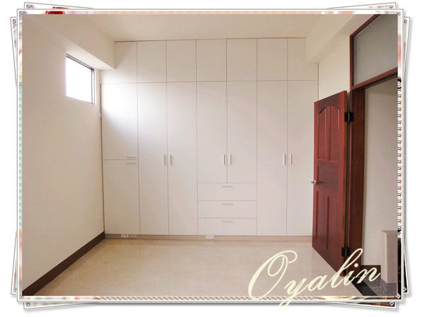 【歐雅系統家具】系統櫃 潔白收納衣櫃~系統櫥櫃 系統收納櫃 德國E1-V313防潮塑合板 系統櫃工廠