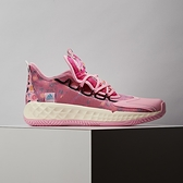 Adidas Pro Boost Low 男 粉白 亡靈節 骷髏頭花 籃球鞋 FZ3163