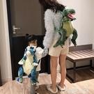 玩偶包可愛包包女卡通毛絨恐龍玩偶公仔後背包動物霸王龍玩具背包男兒童  雲朵 上新