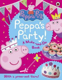 【佩佩豬】PEPPA'S PARTY! A MAKE-AND-DO BOOK /貼紙書