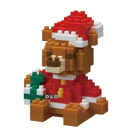 《 Nano Block 迷你積木 》NBC- 201 聖誕小熊 ╭★ JOYBUS玩具百貨