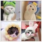 貓帽子狗頭套寵物頭飾表演道具可愛搞怪造型耳朵毛絨廠『洛小仙女鞋』