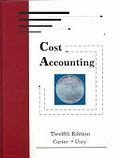 二手書博民逛書店《Cost Accounting, Swc Accounting