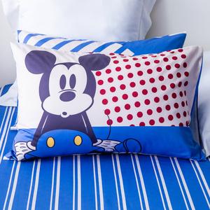 HOLA 迪士尼系列 復古米奇純棉西寢床被組 單人 MICKEY Disney