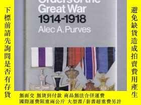 二手書博民逛書店稀少,《The罕見Medals, Decorations & Orders of the Great War 19