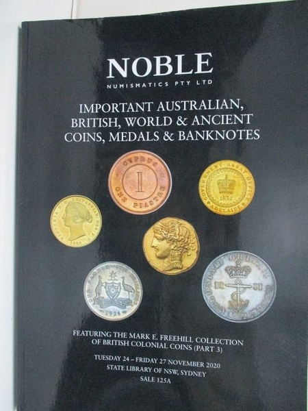【書寶二手書T2/收藏_I45】NOBLE Numismatics Pty Ltd_2020/11