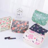 《J 精選》甜美少女風PU仿皮手拿化妝包/盥洗包/配件收納包
