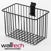 法國品牌 walltech 深型籃 中尺寸(M) W25CM 黑色烤漆款