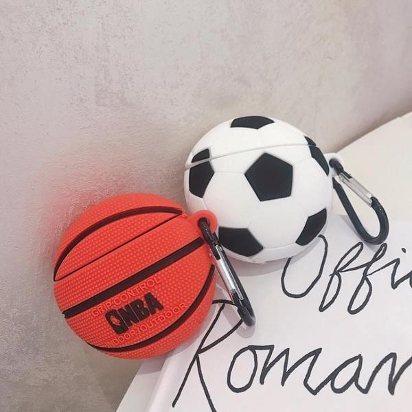 籃球足球airpods保護套蘋果無線耳機套airpods2硅膠殼 東京戀歌