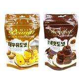 Chiao-E 巧益 花生牛奶/巧克力風味甜甜圈(80g) 款式可選【小三美日】