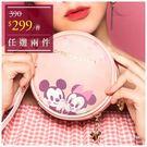 迪士尼櫻花系列化妝包-米奇米妮-單1款-A25250012-天藍小舖