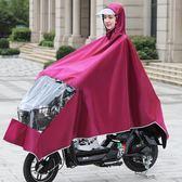 正招電動電瓶自行車雨衣成人騎行女單雙人加大加厚摩托車遮雨披批1