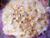 娃娃屋樂園~60支金莎.拉花羽毛棒花束 每束2300元/抽取式分享花束/第二次進場