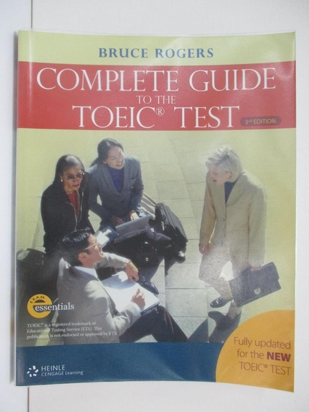 【書寶二手書T1/語言學習_EAR】Complete Guide to the Toeic Test_Rogers, Bruce