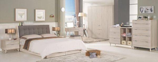 【南洋風休閒傢俱】臥室系列-愛莎6尺被櫥式雙人床架 2016新款(CM051-1)