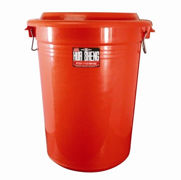 **好幫手生活雜鋪**華成萬年桶 210L(附蓋子) -----儲水桶.營業用垃圾桶.萬能桶