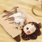 貓咪狗狗墊子睡覺用毛毯子睡墊冬天加厚保暖被子床墊寵物用品地墊 安雅