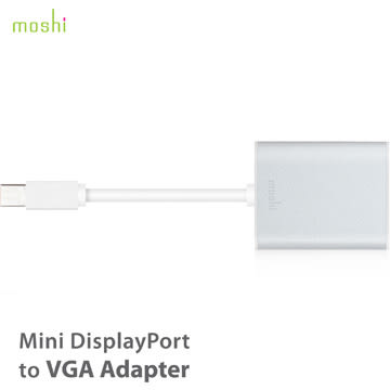 【A Shop】 Moshi Mini DisplayPort to VGA 轉接線