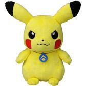 【震撼精品百貨】神奇寶貝_Pokemon~Pokemon 精靈寶可夢18 絨毛皮卡丘(項鍊)11529
