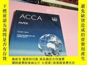 二手書博民逛書店ACCA罕見PAPERY285622